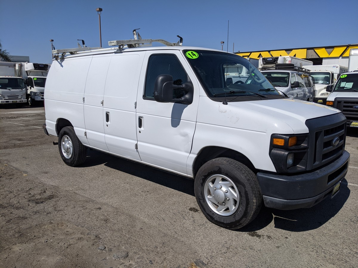Used 2014 Ford E-250 Cargo Van with Roof Rack LOADED in Fountain Valley, CA
