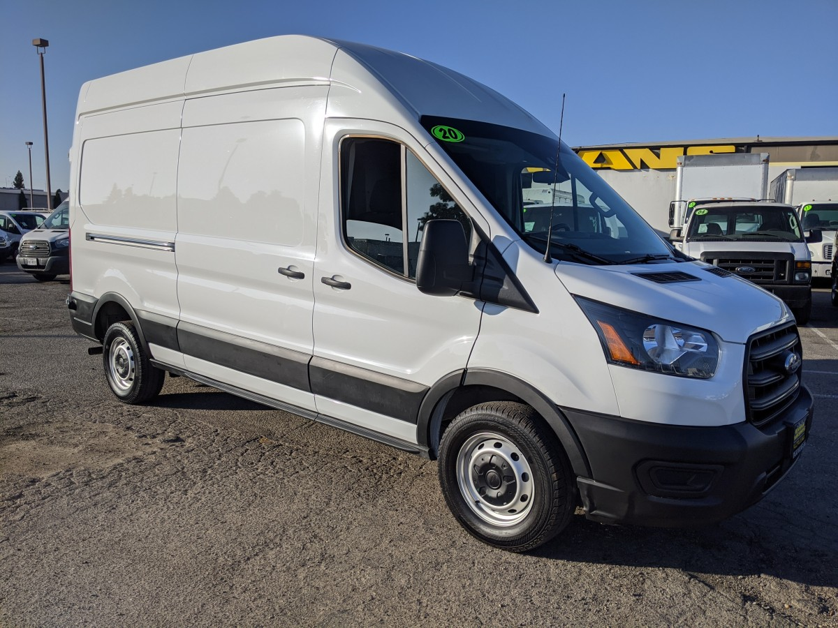 Used 2020 Ford Transit-250 Extended High Roof Cargo Van in Fountain Valley, CA