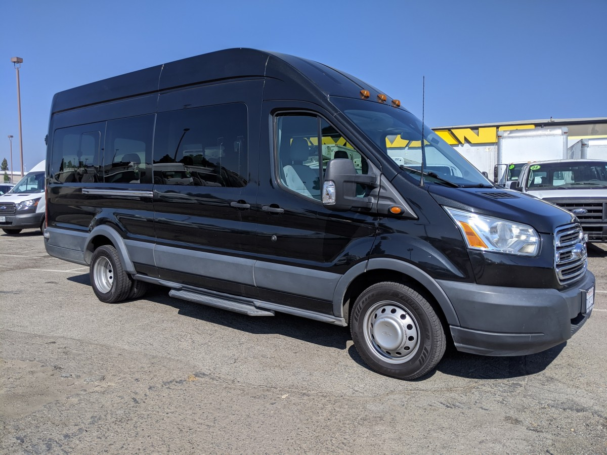 Used 2015 Ford Transit-350 HD  Extended Long High Roof Passenger Van XLT in Fountain Valley, CA