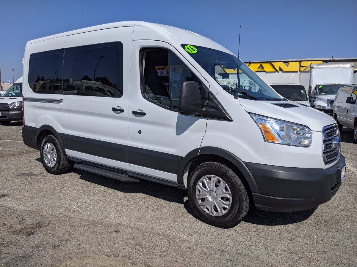 Used 2016 Ford Transit-150 Mid Roof Passenger Van in Fountain Valley, CA