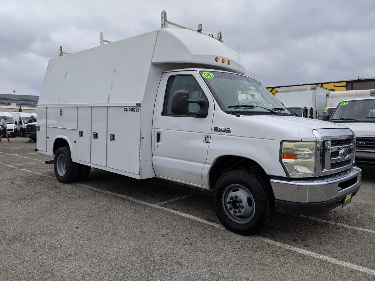 Used 2008 Ford E-450 SD Plumber Truck DIESEL in Fountain Valley, CA