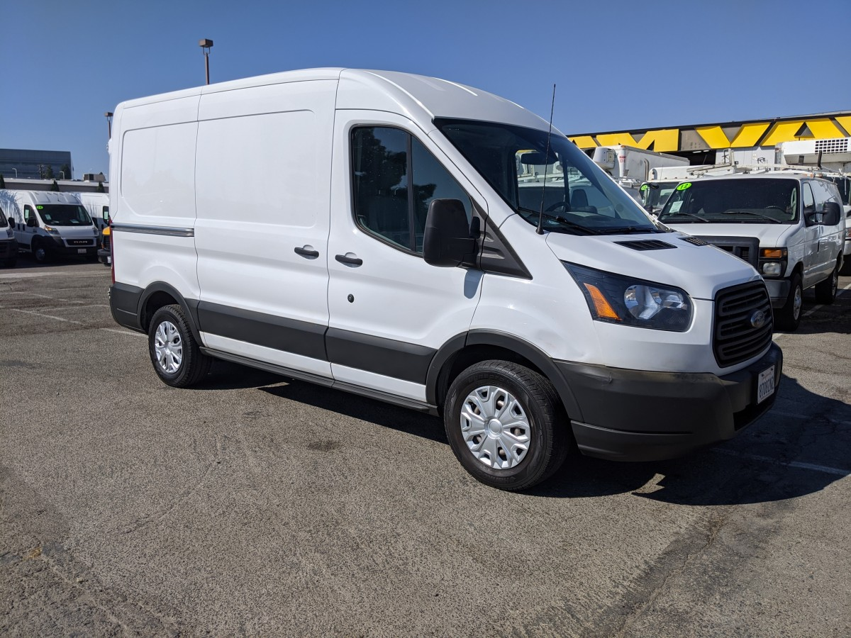 Used 2018 Ford Transit-150 Mid Roof Cargo Van in Fountain Valley, CA