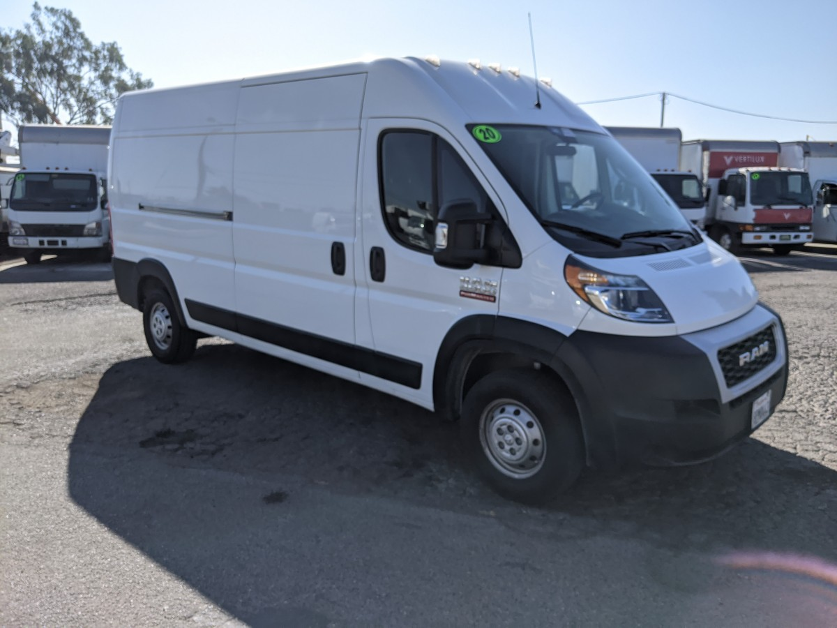 Used 2020 RAM ProMaster 2500 Extended High Roof Cargo Van in Fountain Valley, CA