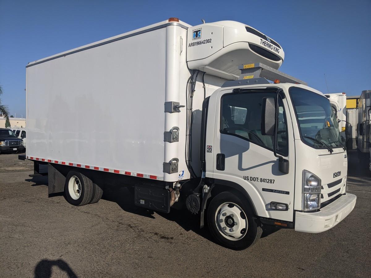 Used 2019 Isuzu NRR 16FT Refrigeration Reefer Box Truck DIESEL in Fountain Valley, CA