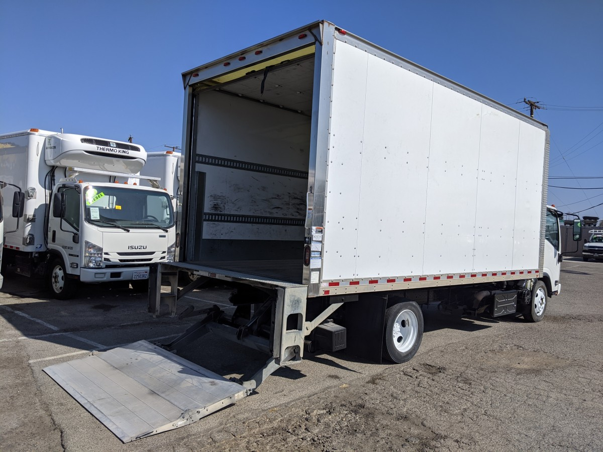 Used 2017 Isuzu NQR 18FT Box Truck with Liftgate DIESEL in Fountain Valley, CA
