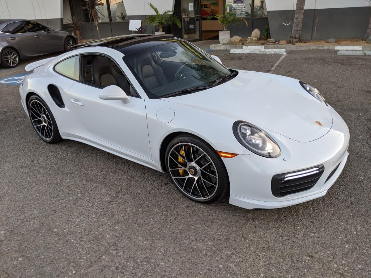 Used 2017 Porsche 911 Turbo S Carrera  Coupe in Fountain Valley, CA