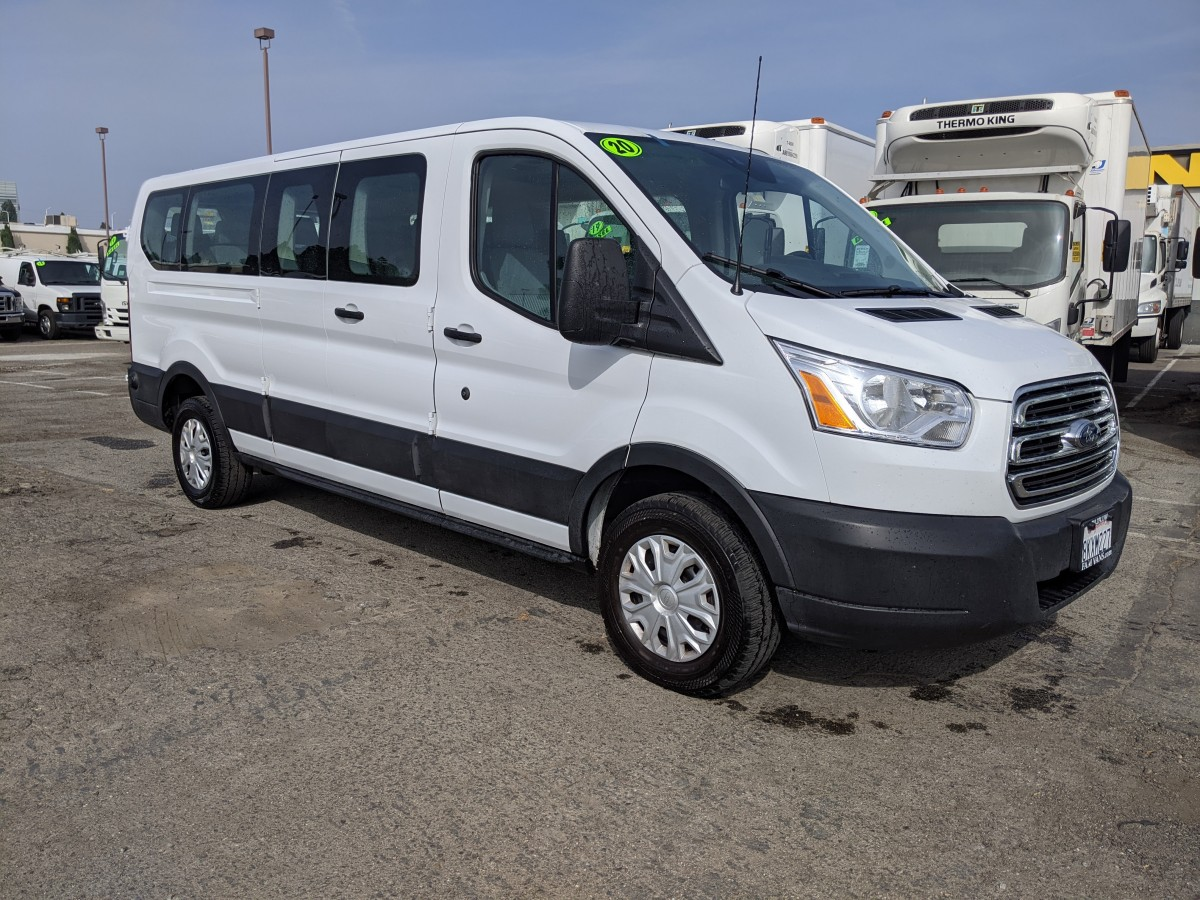 Used 2019 Ford Transit-350 Extended Low Roof Passenger Van XLT in Fountain Valley, CA