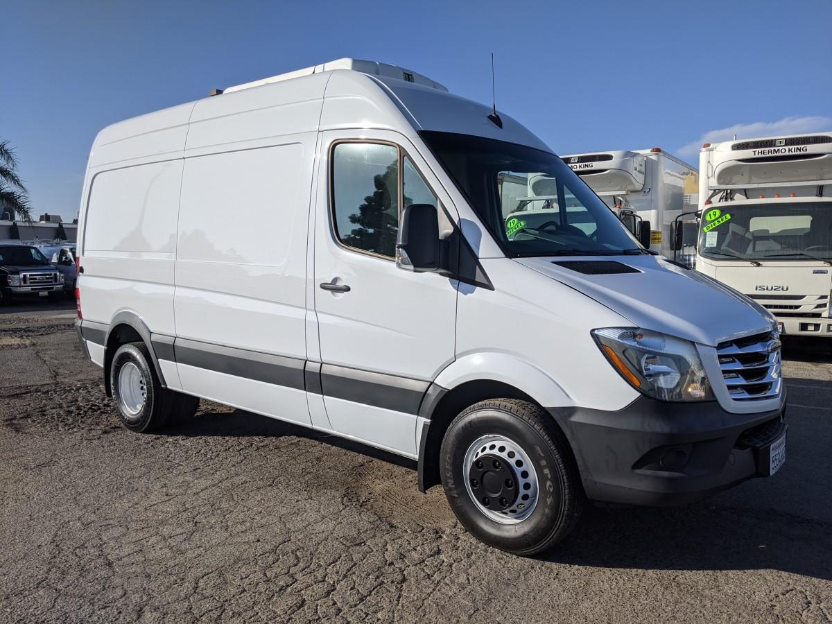 Used 2016 Freightliner Sprinter 3500 High Roof Refrigeration Reefer Cargo Van DIESEL in Fountain Valley, CA