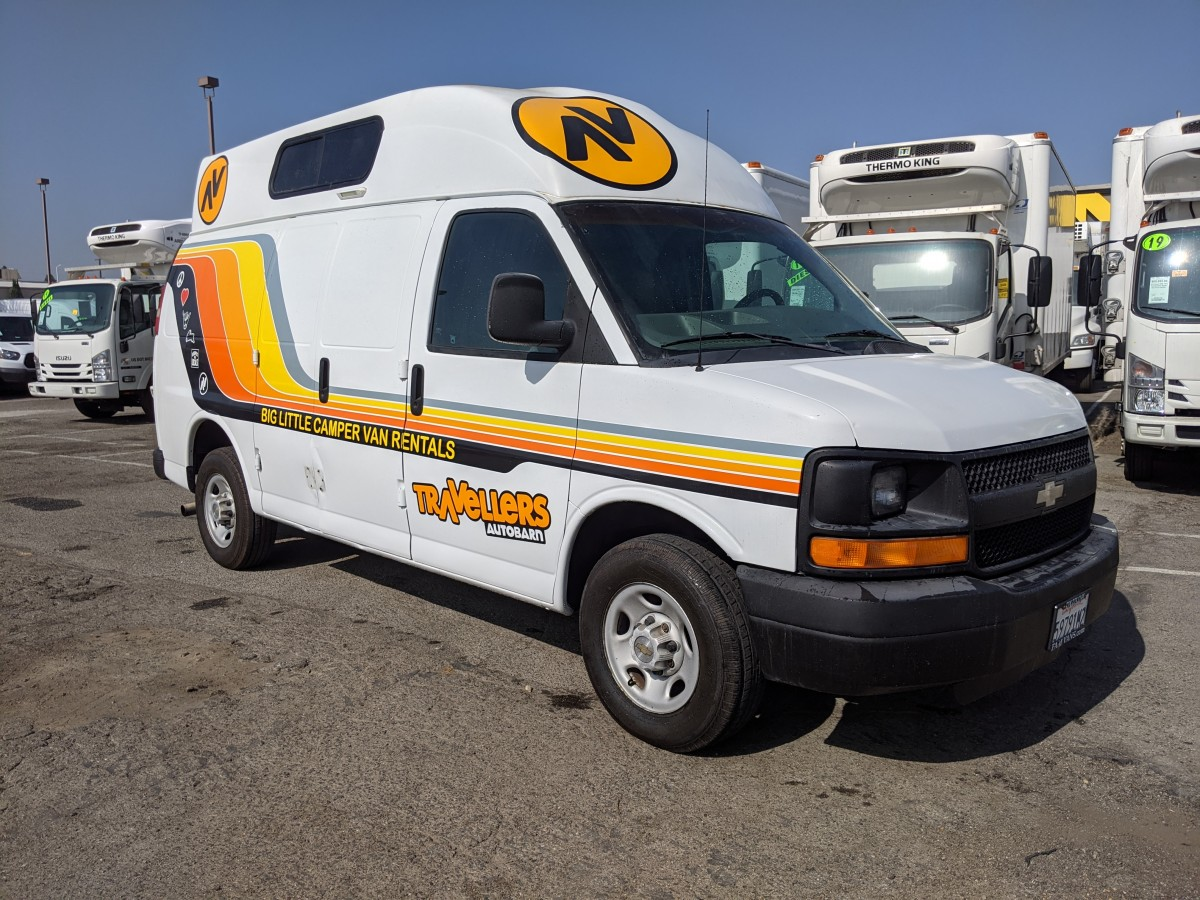 Used 2003 Chevrolet Express 2500 Conversion Camper Van in Fountain Valley, CA