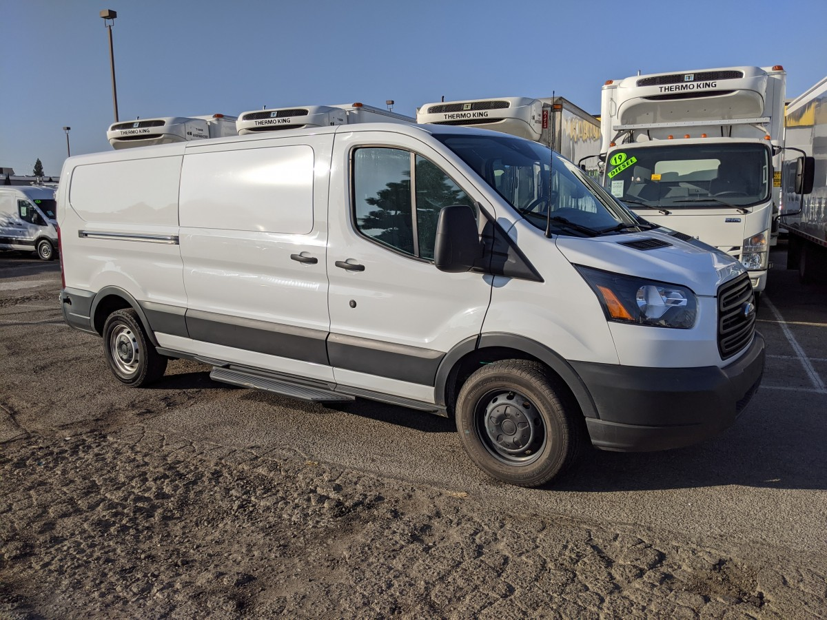 Used 2017 Ford Transit-150 Extended Low Roof Cargo Van in Fountain Valley, CA