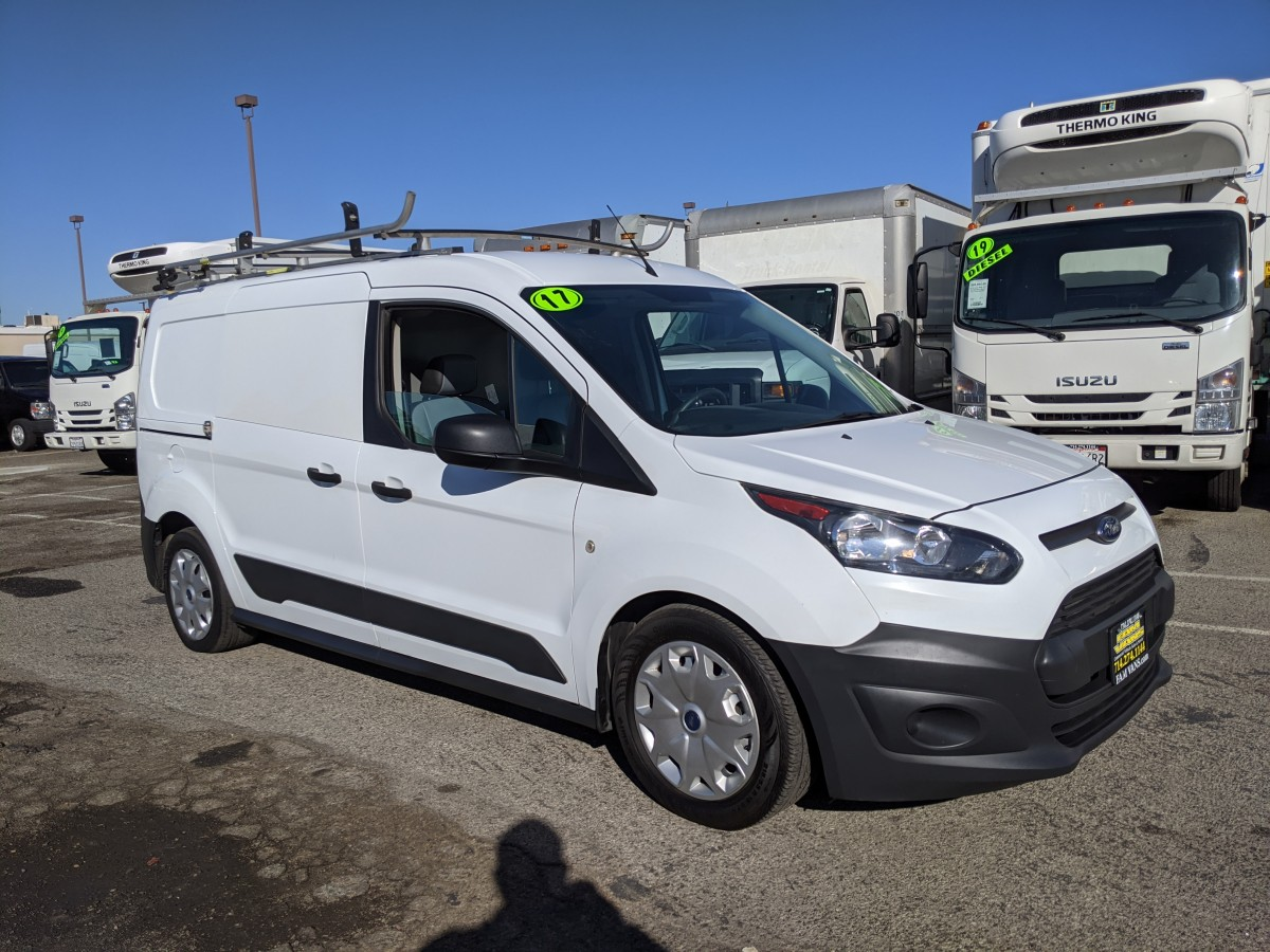 Used 2017 Ford Transit Connect Cargo Mini Van XL with Roof Rack in Fountain Valley, CA