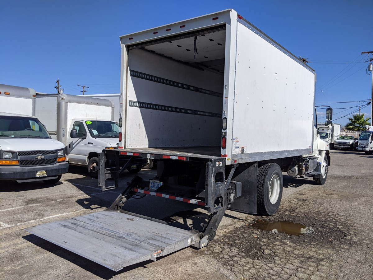 Used 2015 Hino 268A 16FT Box Truck with Liftgate DIESEL in Fountain Valley, CA