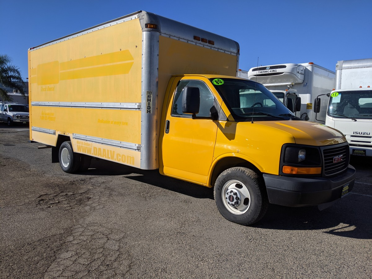 Used 2008 GMC Savana 3500 16FT Box Truck with Loading Ramp in Fountain Valley, CA