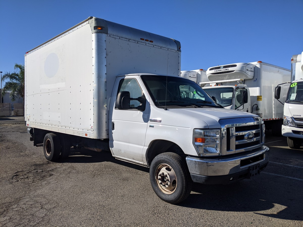 Used 2013 Ford E-350 14FT Box Truck in Fountain Valley, CA