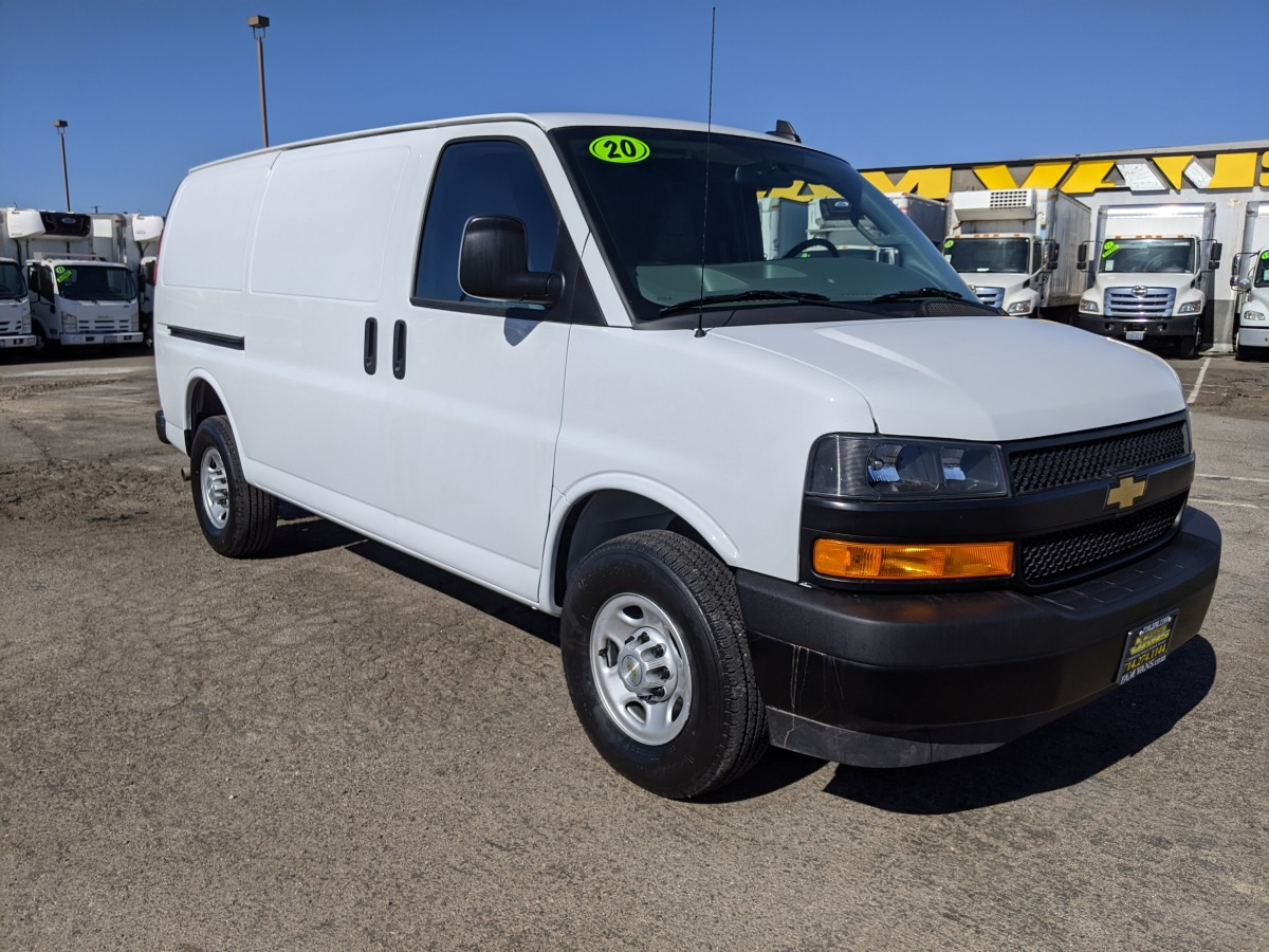 Used 2020 Chevrolet Express 2500 Cargo Van in Fountain Valley, CA