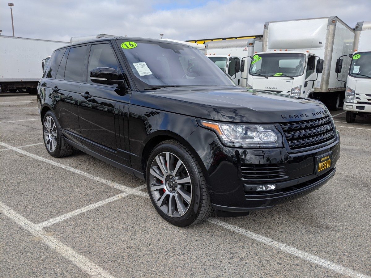 Used 2016 Land Rover Range Rover Autobiography Sport Supercharged SUV in Fountain Valley, CA