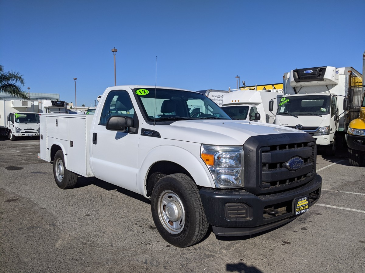 Used 2012 Ford F-250 SD Utility Pickup Truck in Fountain Valley, CA