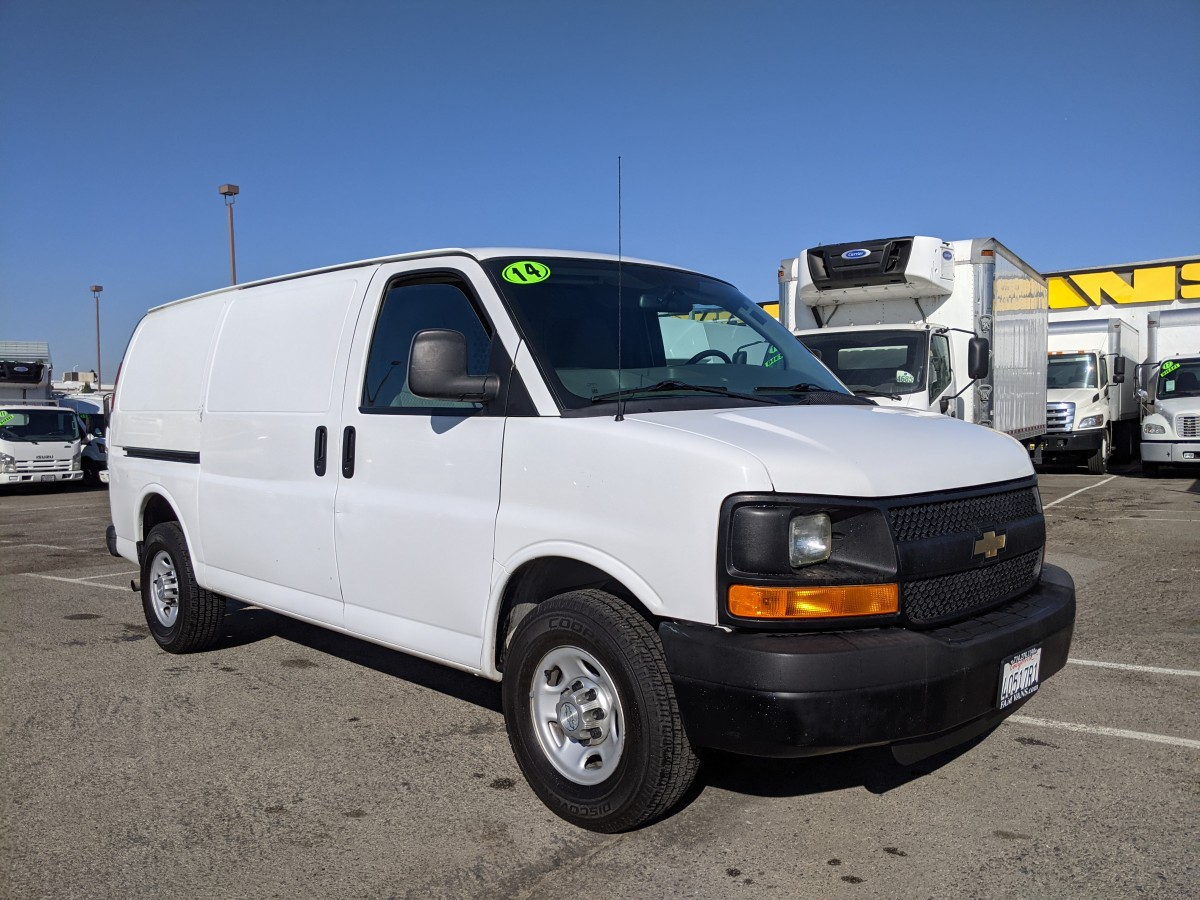Used 2014 Chevrolet Express 2500 Cargo Van with Bulkhead in Fountain Valley, CA