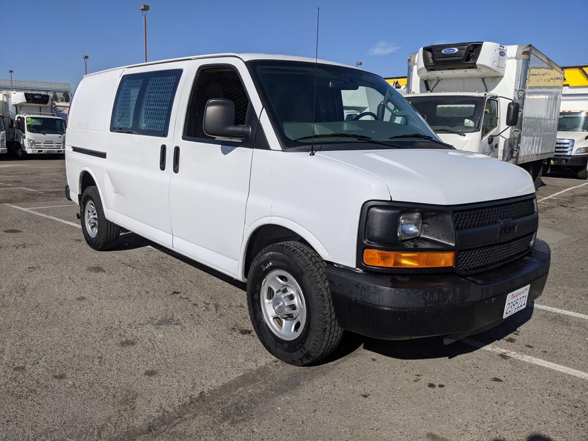 Used 2016 Chevrolet Express 2500 Utility Cargo Van in Fountain Valley, CA
