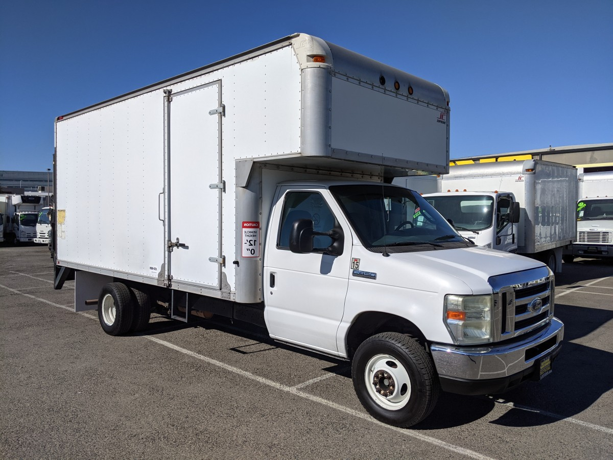 Used 2008 Ford E-450 15FT Box Truck in Fountain Valley, CA