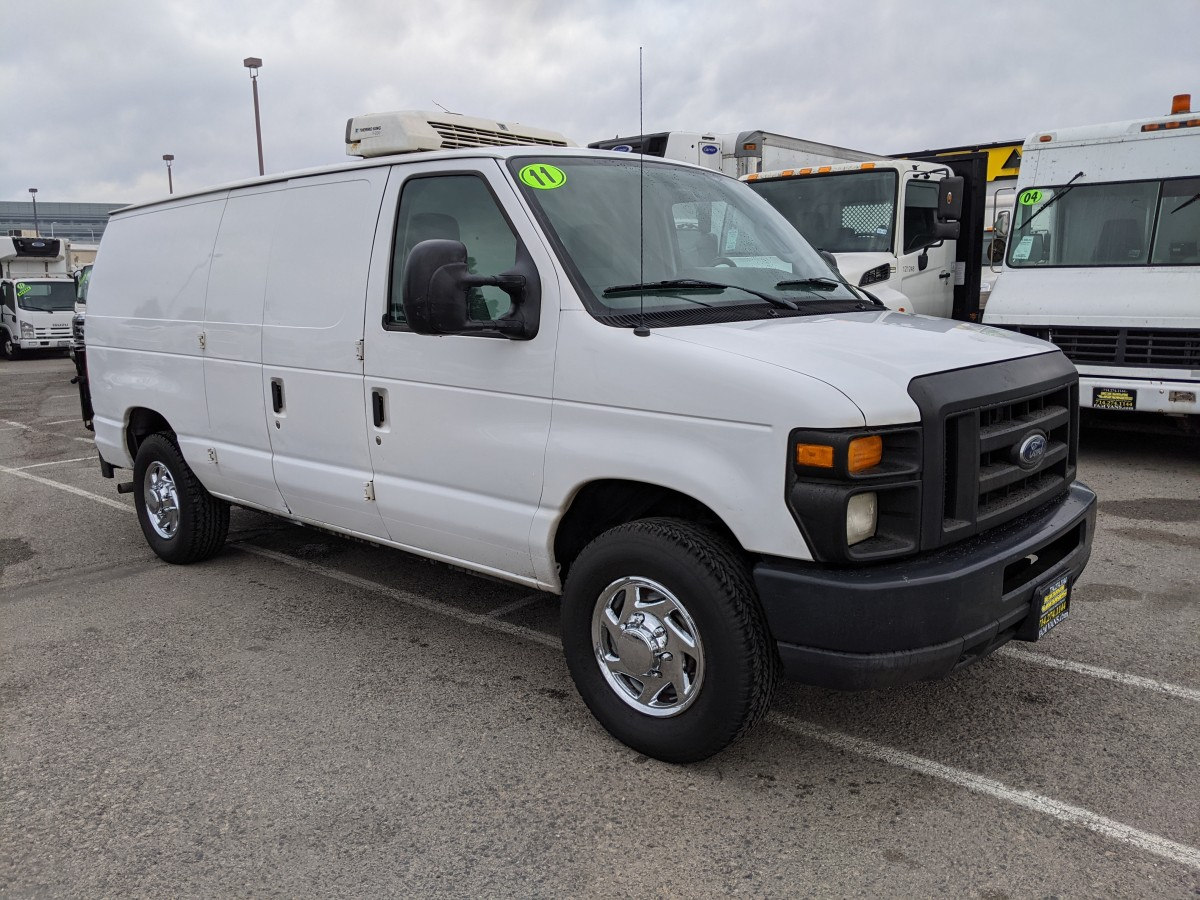 Used 2011 Ford E-250 Refrigeration Cargo Reefer Van in Fountain Valley, CA