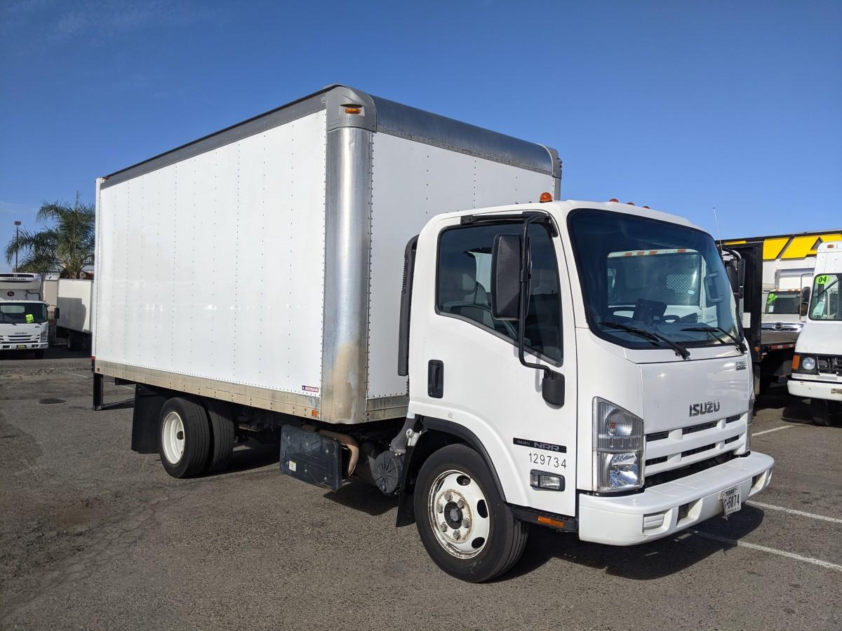 Used 2016 Isuzu NRR  16FT Box Truck DIESEL in Fountain Valley, CA