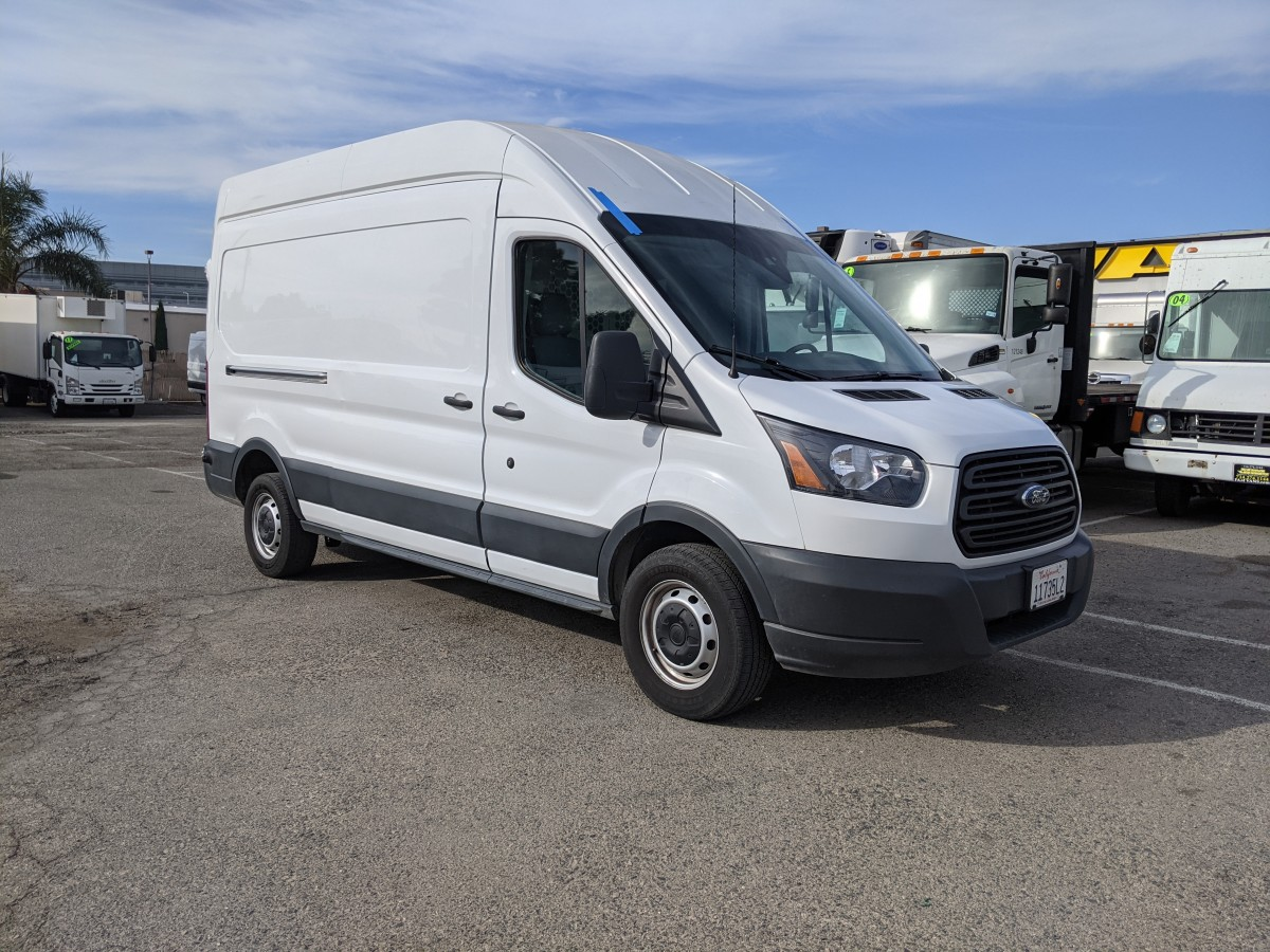 Used 2018 Ford Transit-250 Long High Roof Cargo Van with Bulkhead in Fountain Valley, CA