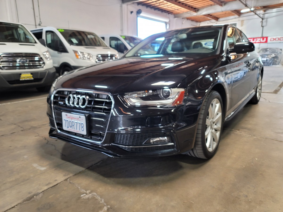 Used 2014 Audi A4 2.0T Quattro Tiptronic AWD in Fountain Valley, CA