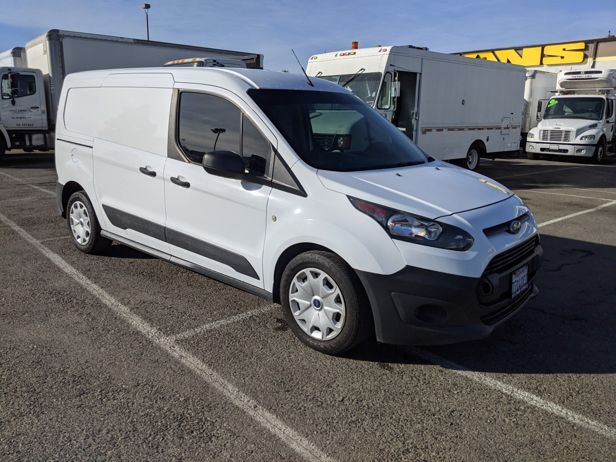 Used 2017 Ford Transit Connect Long Cargo Mini Van with Bulkhead in Fountain Valley, CA