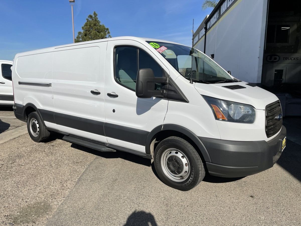 Used 2016 Ford Transit-150 Long Low Roof Cargo Van with ECOBOOST in Fountain Valley, CA