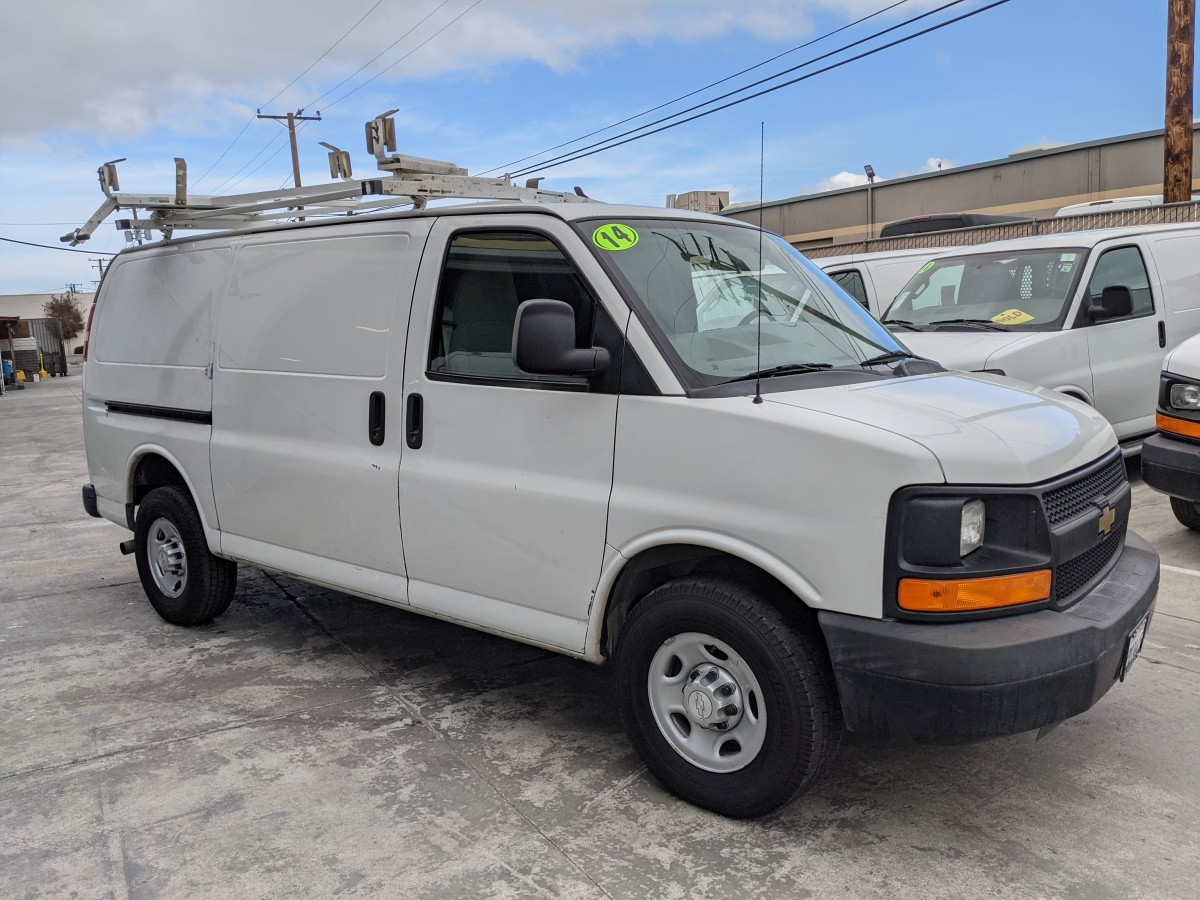Used 2014 Chevrolet Express 2500 Cargo Van in Fountain Valley, CA