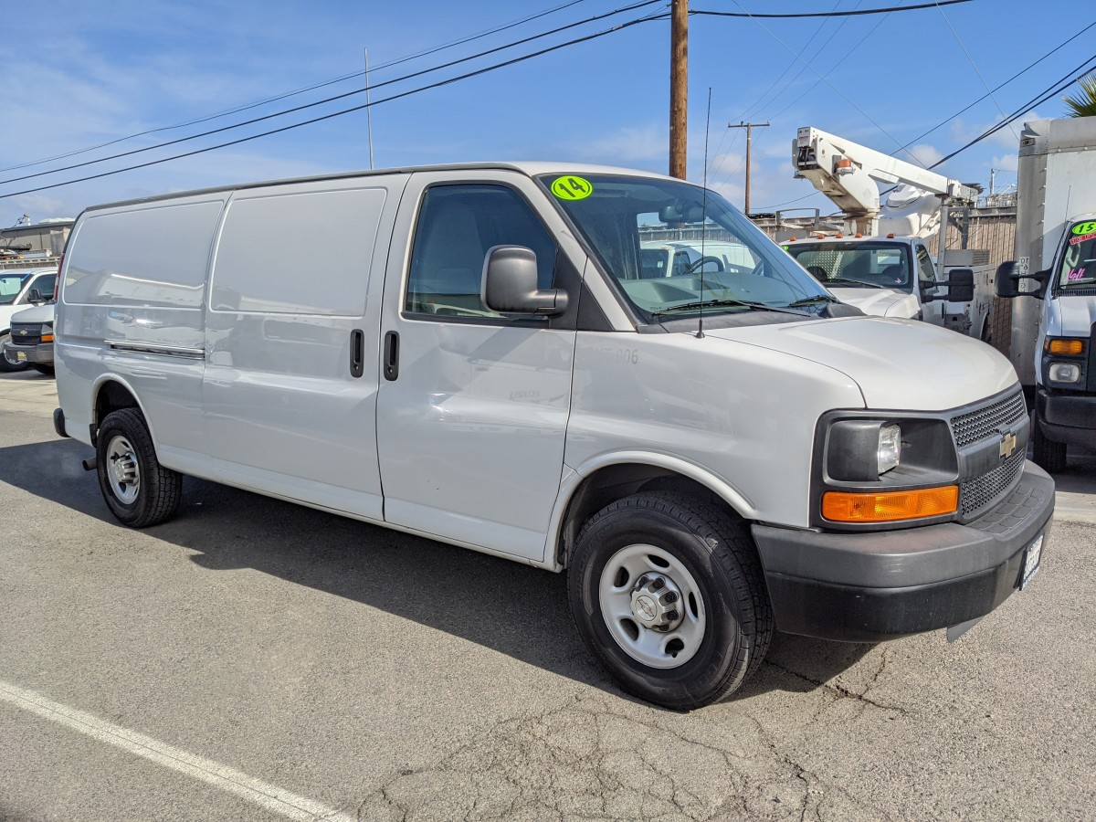 Used 2014 Chevrolet Express 3500 Extended Cargo Van in Fountain Valley, CA