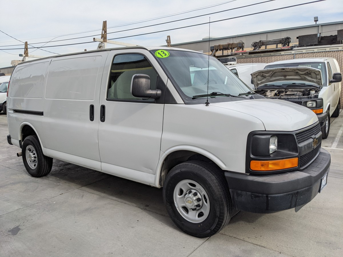Used 2013 Chevrolet Express 2500 Cargo Van in Fountain Valley, CA