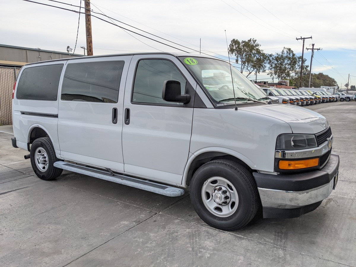 Used 2018 Chevrolet Express 2500 Cargo Van in Fountain Valley, CA