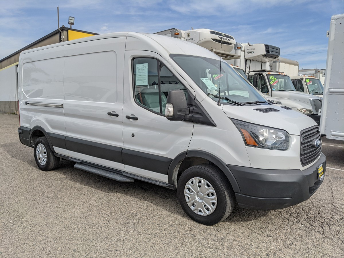 Used 2016 Ford Transit-150 Long Mid Roof Cargo Van in Fountain Valley, CA