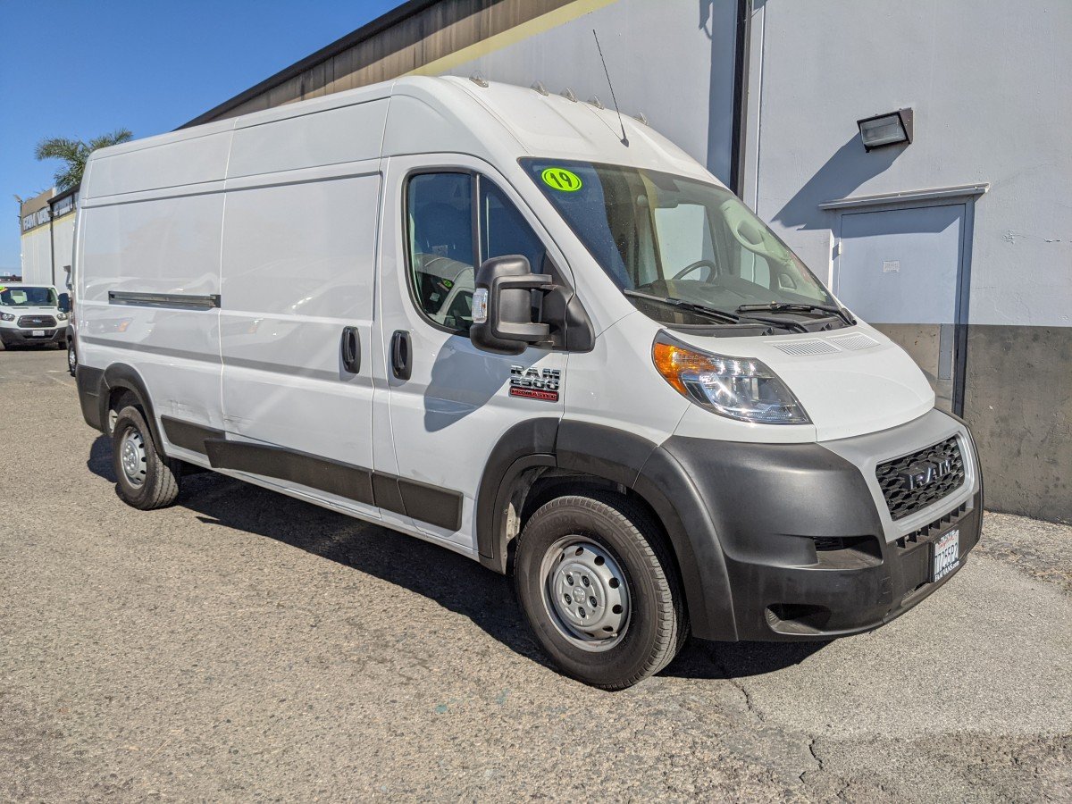 Used 2019 RAM ProMaster 2500 Extended High Roof Cargo Van DING AND DENT in Fountain Valley, CA