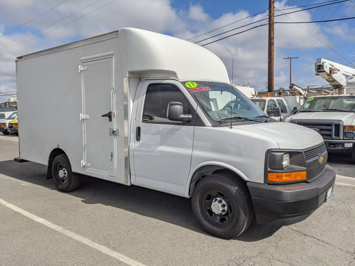 Used 2017 Chevrolet Express 3500 12FT Box Truck in Fountain Valley, CA