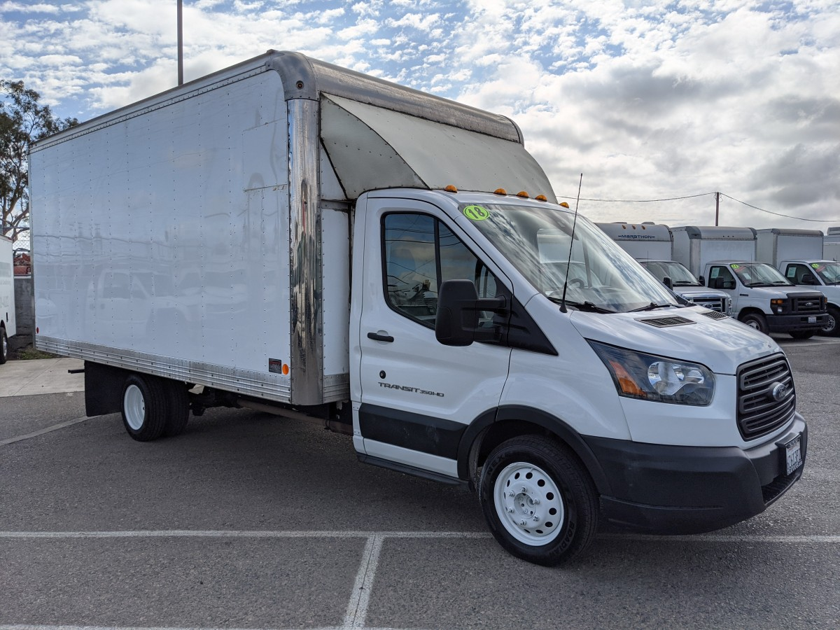 Used 2018 Ford Transit-350 Box Truck in Fountain Valley, CA