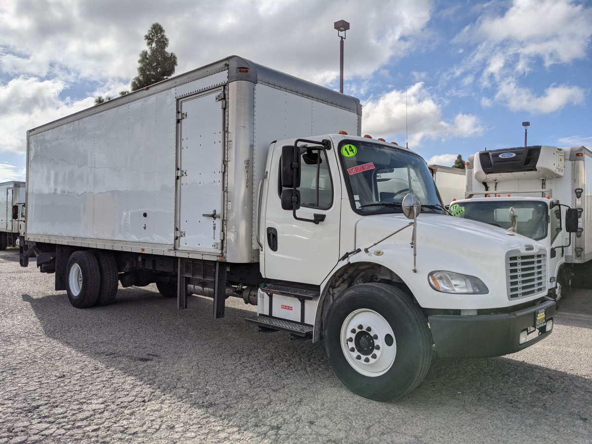 Used 2014 Freightliner M2 106 24FT Box Truck with Liftgate DIESEL in Fountain Valley, CA
