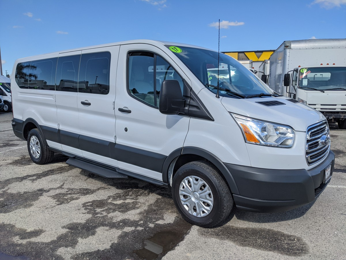 Used 2017 Ford Transit-350 Long Low Roof Passenger Van XLT in Fountain Valley, CA
