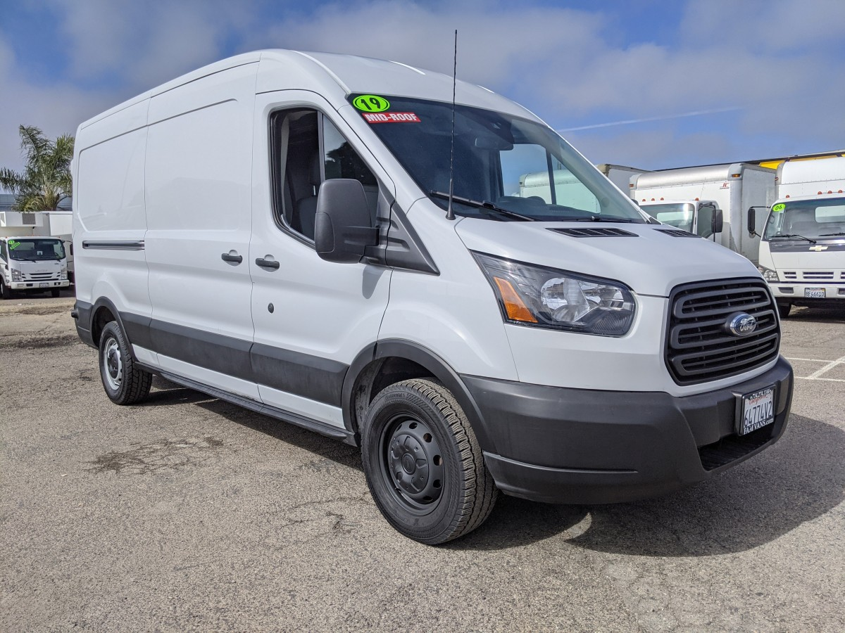 Used 2019 Ford Transit-150 Long Mid Roof Cargo Van in Fountain Valley, CA