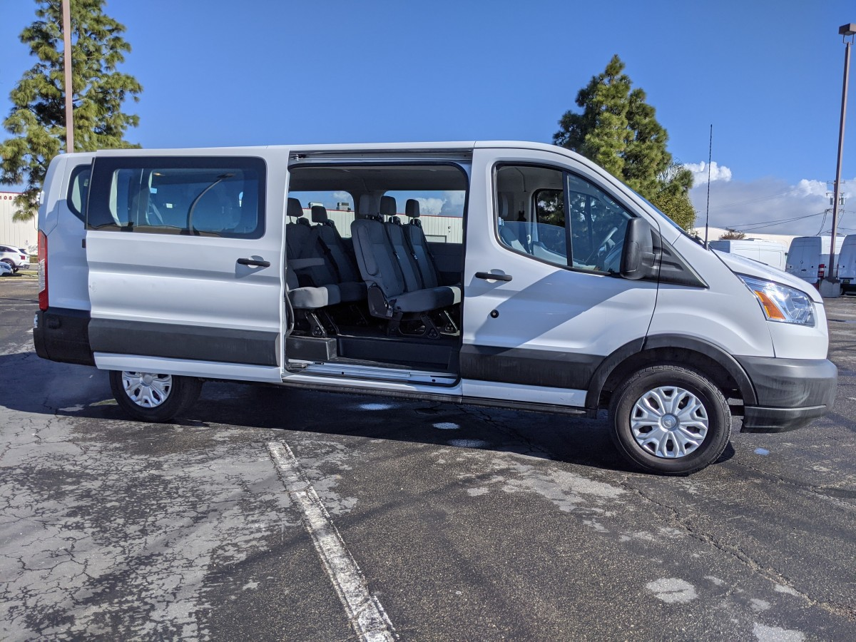Used 2019 Ford Transit-350 Long Low Roof Passenger Van XLT in Fountain Valley, CA