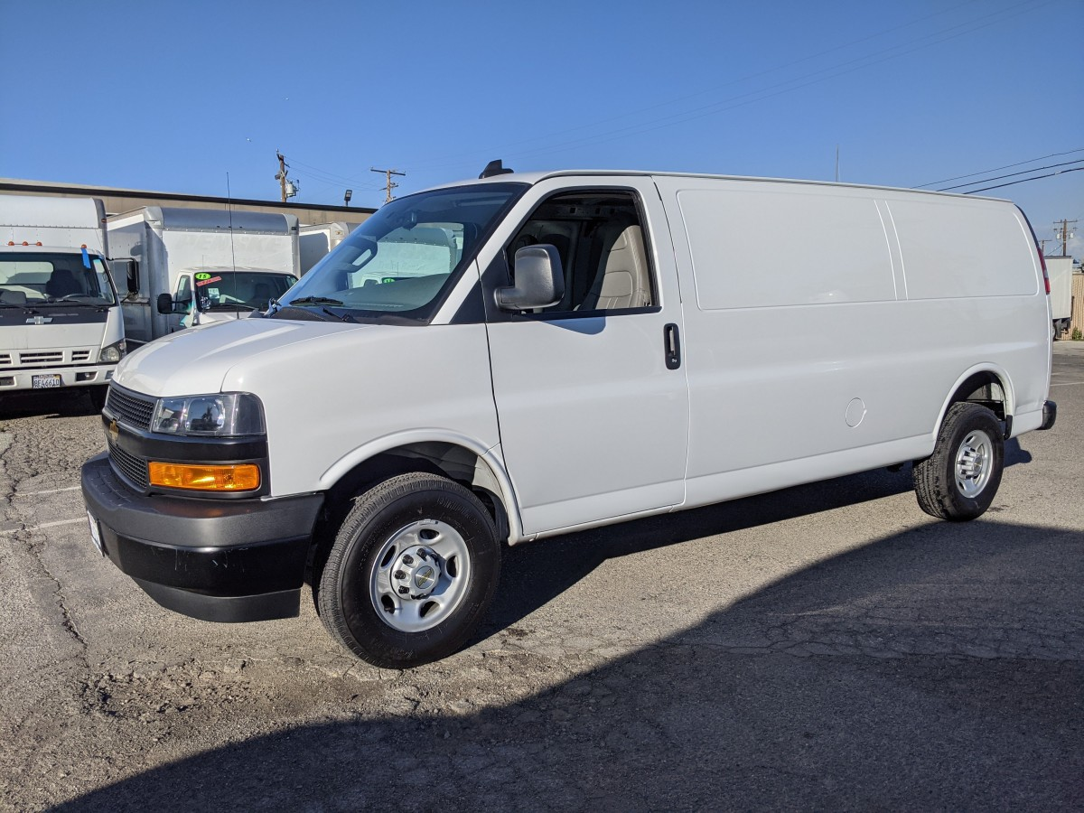 Used 2021 Chevrolet Express 2500 Extended Cargo Van in Fountain Valley, CA