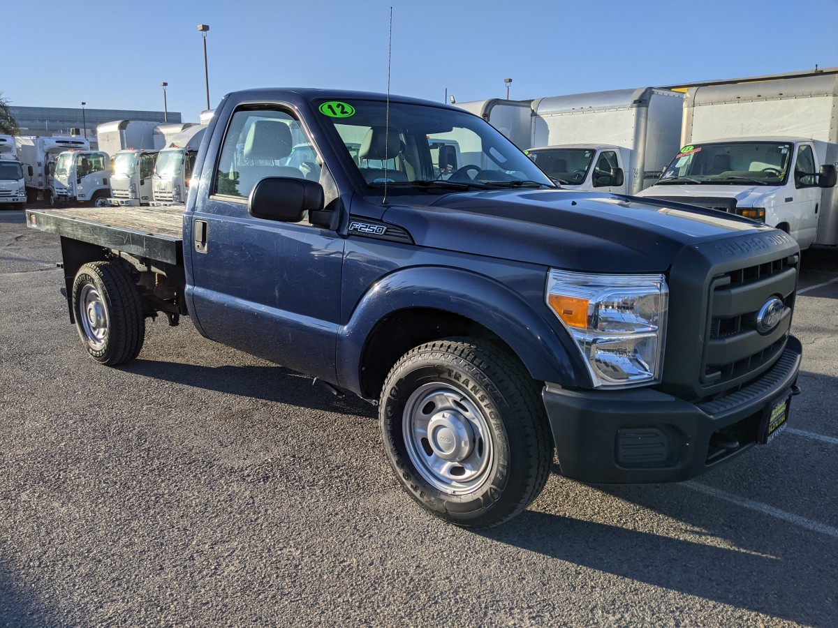 Used 2012 Ford F-250 SD Stake Bed Truck in Fountain Valley, CA