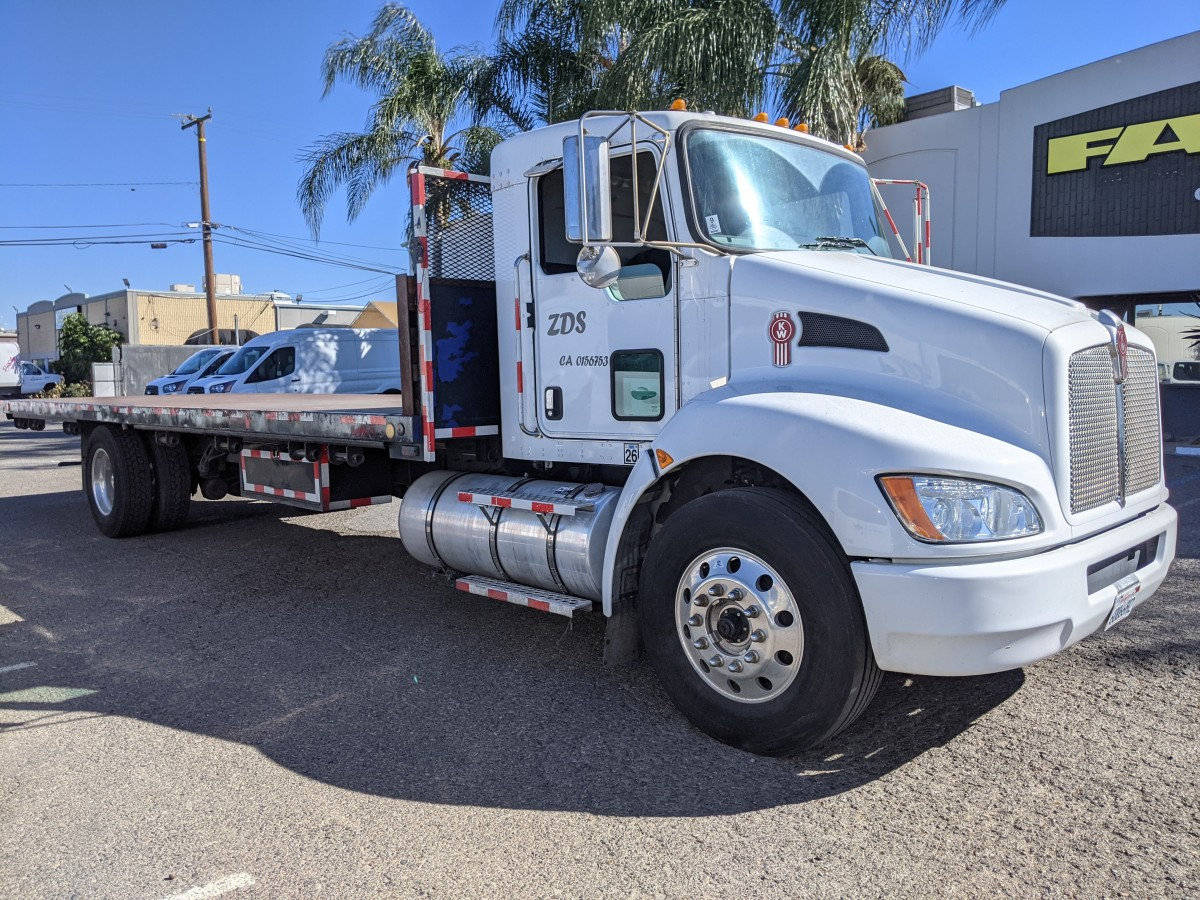 Used 2019 Kenworth T270 26FT Stake Bed Truck DIESEL in Fountain Valley, CA