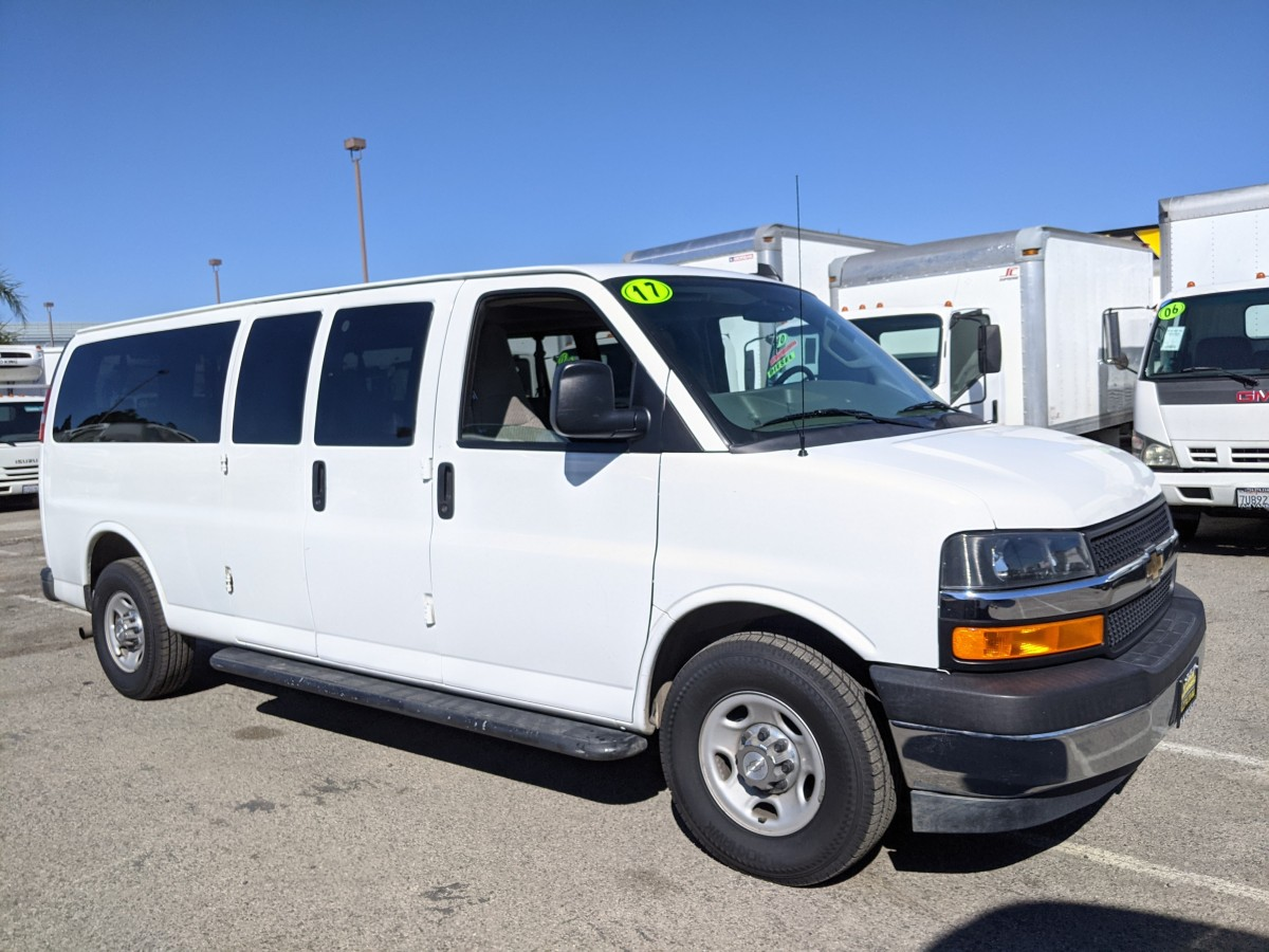 Used 2017 Chevrolet Express 3500 Extended Passenger Van in Fountain Valley, CA