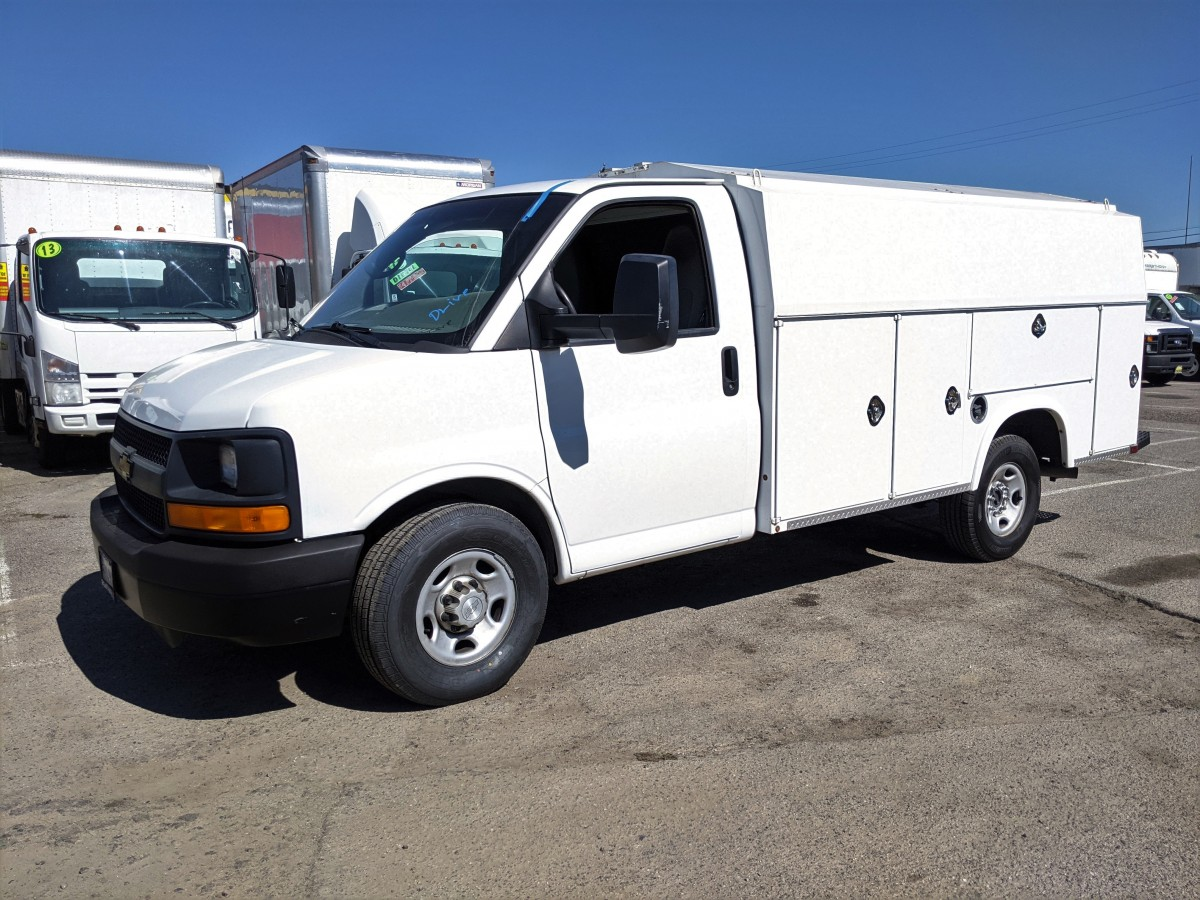 Used 2015 Chevrolet Express 3500 Plumber Truck in Fountain Valley, CA