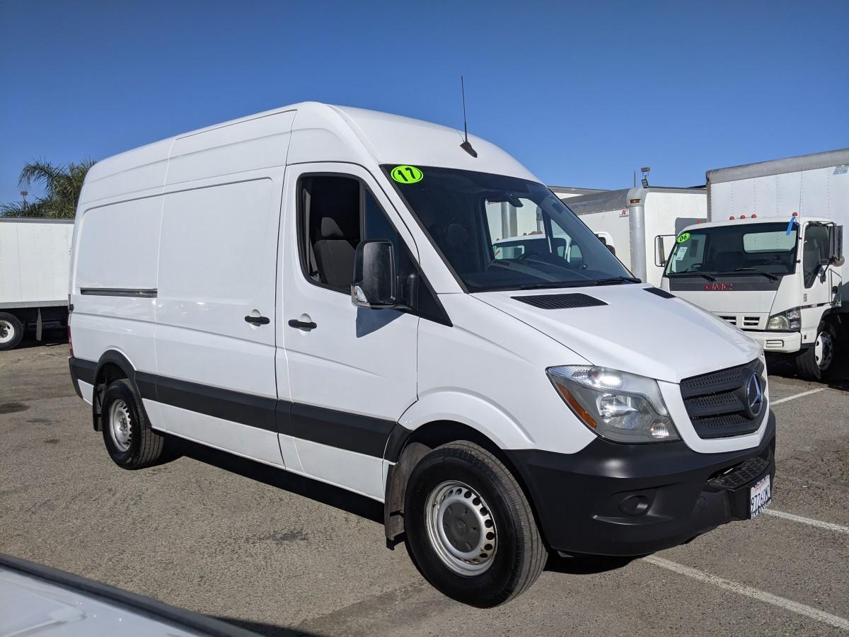 Used 2017 Mercedes-Benz Sprinter 2500 High Roof Cargo Van DIESEL in Fountain Valley, CA