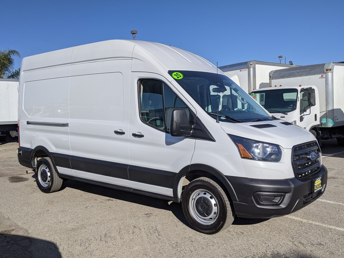 Used 2020 Ford Transit-250 Long High Roof Cargo Van in Fountain Valley, CA