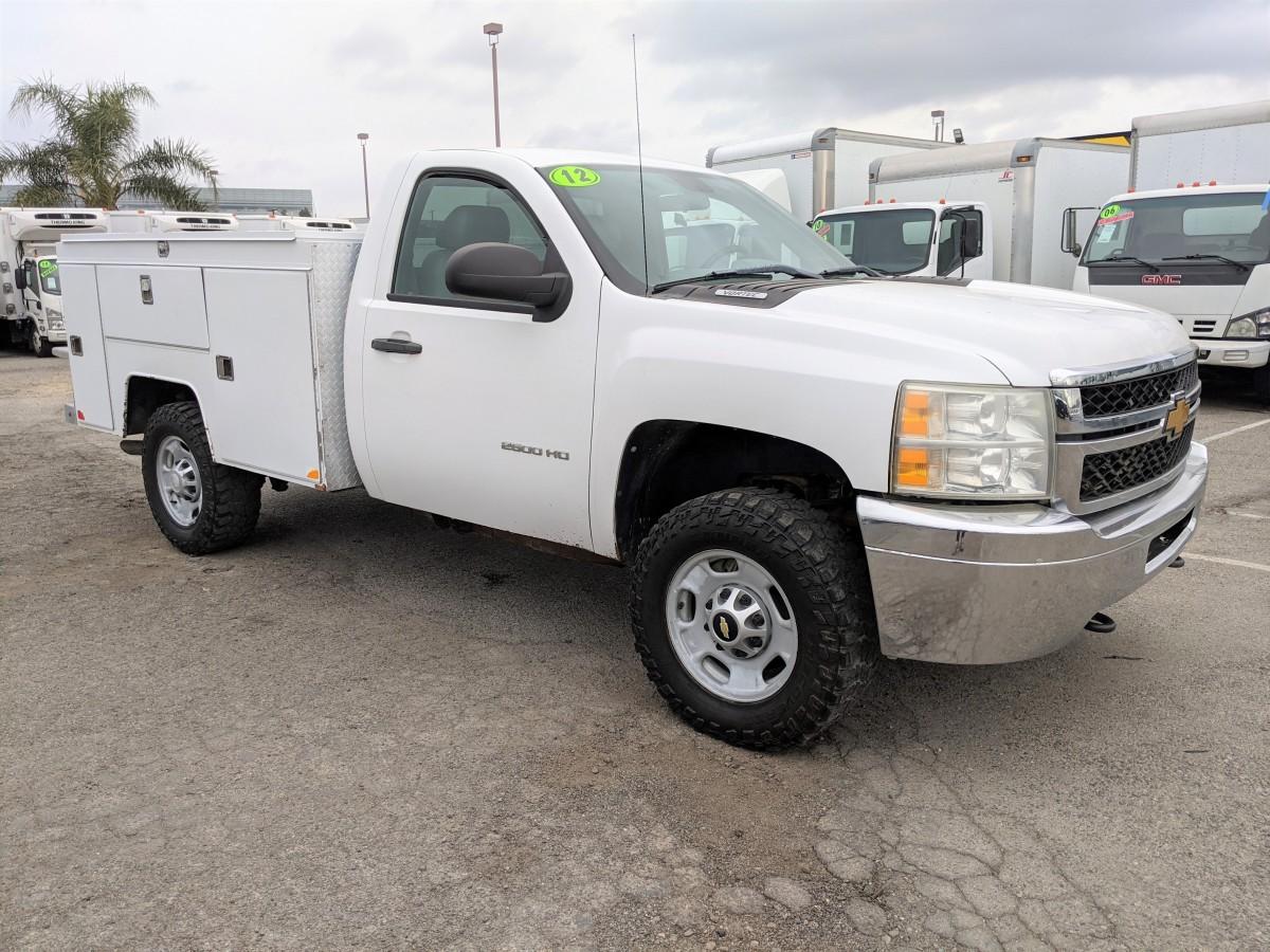 Used 2012 Chevrolet Silverado 2500 HD 4X4 Utility Truck 4WD in Fountain Valley, CA